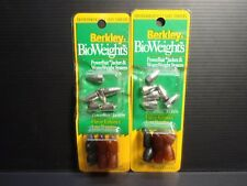 2pk Berkley BioWeights Fishing Powerbait Jackers Worm Weights 1/8oz