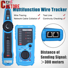 Handheld RJ45 RJ11 Network Telephone Cable Tester Wire line Toner Tracker
