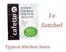 Cafetto Restore Coffee Maker Espresso Machine Cleaner Descaler 1x  single use