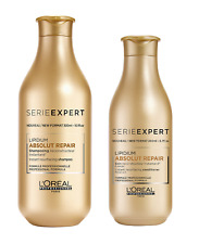 L`oreal Serie Expert Absolut Repair Shampoo 300ml & Conditioner 200ml NEW DESIGN