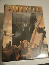 Peter Jackson King Kong Deluxe Extended Edition Dvd Gift Set w/ Statue New Oop