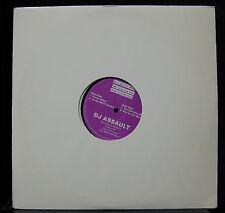 DJ Assault - Purple EP VG+ EF 504 Electrofunk Records 1996 Techno Vinyl Record