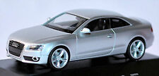 Audi A5 Coupe 8T 2007-11 IN pc-showcase Display Box Ice Silver Metallic 1:87