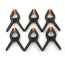 6Pcs Tools Hard Plastic Woodworking Grip 2inch Toggle Clamps Spring Clip Tool ��