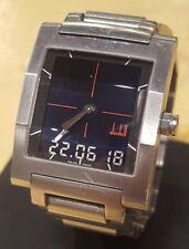 Dunhill Analog-Digital DM7 Quartz Watch (DG8002L) Chrono alarm RARE