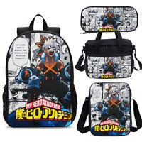 My Hero Academia Deku Smaassh Backpacks Cooler Lunch Bag Pen Case Sling Bag Lot