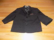 Size 18 Months Silver Suit USA Black Suit Jacket Coat Formal Wedding Easter EUC