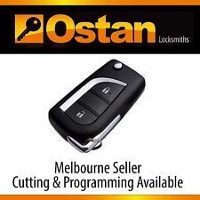 Complete Flip Key & Remote to suit Toyota Corolla ZRE-182, 08-12 (Aftermarket)