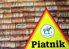 Piatnik Wine Corks 1000 Piece Puzzle New Sealed Made in Austria 26.5 x 17.4 Size