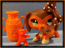 🌺 Rare Lps Littlest Pet Shop Savannah Savvy Dachshund Dog #675 Accessories Lot