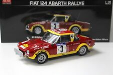 1:18 Sunstar Fiat 124 Abarth Rallye African Safari #3 New chez Premium-modelcars