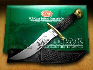 Case xx Kodiak Hunter Fixed Blade Knife Genuine Buffalo Horn 00395