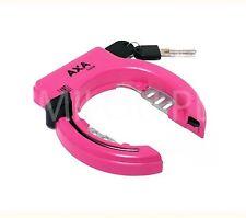 AXA Rahmenschloß Schloss SOLID Fahrradschloss pink S10