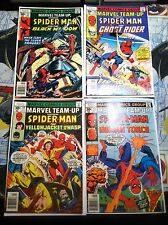 Marvel Team-Up #57 #58 #59 #61 Human Torch Ghost Rider Awesome Lot L@@K!!!