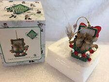 """Charming Tails """"Friends, Everyones Favorite Gift"""" Dean Griff Nib Ornament"""