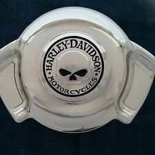 HARLEY DAVIDSON WILLIE G. CHROME CUSTOMIZED AIR WING HORN COVER NEW IN BOX