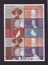 Nederland NVPH 3048-53 Vel 1001 Vrouwen 2013 Postfris