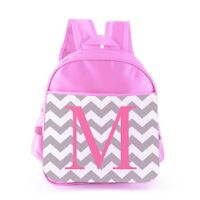 Personalised Kids Backpack Any Name Initial Girl Childrens Back To School Bag 13