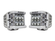 Rigid Industries D-SS Pro Driving Pair LED Side Shooter White Finish 862313