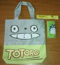 My Neighbour Totoro Canvas Shopping Shoulder Tote Bag & Wallet UK Studio Ghibli