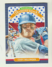 2020 Donruss INDEPENDENCE DAY Diamond Kings 3 CODY BELLINGER Los Angeles Dodgers