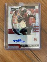 ANTHONY MCFARLAND SILVER PRIZM MOJO REFRACTOR ROOKIE AUTO /49 STEELERS FREE SHIP