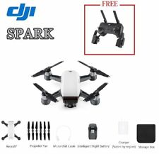 DJI Spark Camera Drone & GET Remote Controller FREE- Alpine Blanco (UK version)