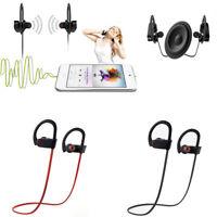 NEW Waterproof Best Bluetooth Earbuds Beats Sports Wireless Headphones Earphones