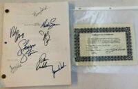 CASINO Movie Full Script SIGNED by Full Cast With Certificate of Authenticity
