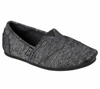 Skechers Women BOBS Plush Express Yourself Slip On Memory Foam Flats Shoes 33910