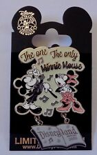 Disney DLR Featured Artist Collection 2006 Minnie Mouse Singing Pin LE