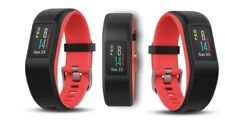 GARMIN Vivosport Fitnesstracker S/M Silikon Fuchsia Focus Bluetooth GPS
