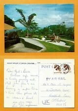 SINGAPORE VINTAGE   POSTCARD STAMP 1978 ANCIENT ARTILLERY AT SENTOSA SINGAPORE