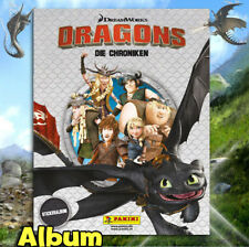 Panini Dragons die Chronik Stickeralbum Leeralbum  Neu