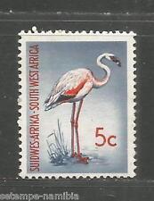 South West Africa 5 C Dwarf Flamingo SWA South West Africa