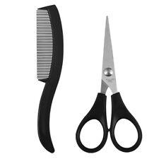 Best Mens Beard Mustache Nose Ear Scissors Comb Trimming Facial Hair Trimmer