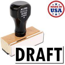 Acorn Sales - Large Draft Rubber Stamp
