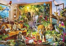 """""""Coming to Life"""" (Faune, Animaux) wooden jigsaw puzzle par Wentworth * NEUF *"""