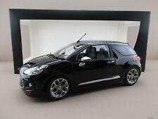 Citroen DS3 Cabrio in schwarz (2012) Norev Maßstab 1:18  OVP NEU