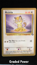 Pokemon Fruit Roll Up Gold Promo MEOWTH 56/64 NM / NM-