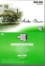ITC TV CENTURY 21 JOE 90 UNSTOPPABLE CARD MIKE TRIM MT1 AUTOGRAPH CARD ANDERSON