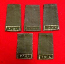 Vintage Royal Canadian  Horse Artillery Shoulder Boards Lot of 5 knu1