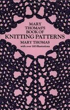 Mary Thomas's Book of Knitting Patterns by Mary Thomas (author)