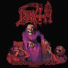 """DEATH AUFNÄHER / PATCH # 6 """"SCREAM BLOODY GORE"""""""
