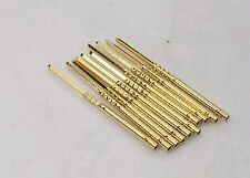 100pcs R75 2w Testing Probes Spring Test Pin 265mm Length Receptacle R75 2w