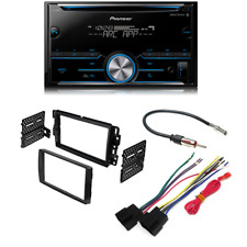 Pioneer Fh-S500Bt Double Din Bluetooth w/ Car Radio Stereo 2-Din Dash Kit