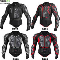 Motocross Racing Body Chest Back Guard MX Motorcycle Protector Pressure Suit
