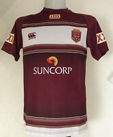 QUEENSLAND STATE OF ORIGIN NRL TRAINING TEE BY CANTERBURY SIZE MENS EXTRA SMALL
