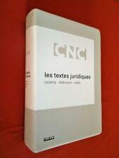 Les textes juridiques : Cinéma, Télévision, Vidéo.