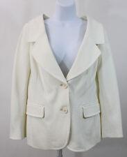 NEW Moschino Cheap & Chic Ivory Blazer Jacket SZ 44 US 10 NWT   (J12)